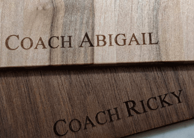 Personalized Clipboards: Give your Coach a Gift they will use year round