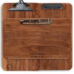 """Extra Large Clipboard - Solid Walnut 12"""" x 18"""" by Winwood Designs"""